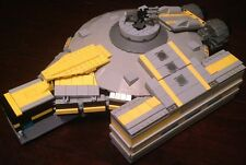 Custom Lego Star Wars Smuggler Class Star Ship with Crew, NEW DESIGN!