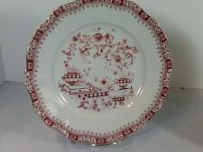 """Seltmann Weiden Chinoiserie Theresia Red 9 3/8"""" Dinner Plate Bavaria W Germany"""
