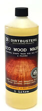 Dirtbusters Eco Wood Floor Cleaner Soapy Solution For All Wooden Cleaning 1L