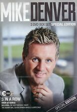 Mike Denver - 3 in a Row Special Edition (3 DVD Box Set New 2015)