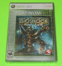 BioShock 1 (Microsoft Xbox 360, 2007) NEW SEALED Rated M Mature Horror game