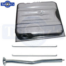 71-2 Challenger Fuel Gas Tank Kit to 3/72 Straps & Filler Inlet Neck Tube Pipe