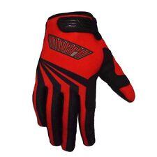 Motocross MX dirt bike red small gloves