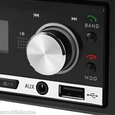 Bluetooth Car Stereo Audio In-dash Single Din Aux Input Receiver Radio Player