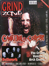 GRIND ZONE 2 2002 Cannibal Corpse Crown Soilwork Vomitory Arch Enemy Necrophobic