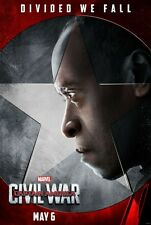 Captain America Civil War Version N  Movie Poster Single Sided 14x20