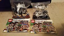 LEGO Castle Medieval Market Village (10193) Complete - Display Set