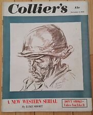 COLLIERS MAGAZINE NOVEMBER 4 1950 DON'T SMOKE SHE-TOWN GHOST AT ILLINOIS