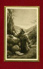 SANTINO SAN FRANCESCO D'ASSISI  IMAGE PIEUSE - HOLY CARD-  Heiligenbild