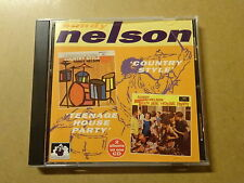 CD / SANDY NELSON: COUNTRY STYLE & TEENAGE HOUSE PARTY