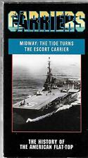 Pacific Arts Video, Midway: The Tide Turns, The Escort Carrier Documentary VHS