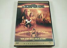 The Scorpion King DVD Collector's Edition Dwayne Johnson, Kelly Hu, Bernard Hill