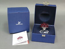 Swarovski Crystal 2002 Jubilee Edition The Vase of Roses w/ Box