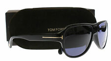 New Tom Ford Sunglasses Men TF 446 Black 01V Dylan 57mm