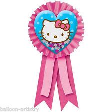 Hello KITTY adorable coeur confettis Award badge ruban