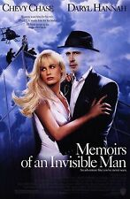 MEMOIRS OF AN INVISIBLE MAN 1992 Chevy Chase US 1-SHEET POSTER