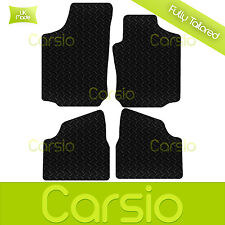 Black Fully Tailored Rubber Car Floor Mats For Vauxhall Corsa C 2004 - 2007