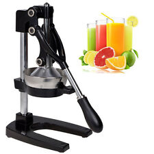 Commercial Bar Manual Press Orange Citrus Fruit Juicer Juice Squeezer Heavy Duty