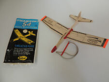 1 NEW VINTAGE Guillows Phantom 54 Airplane Plane Balsa Wood Toy Glider 70s