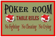 Segno di Poker Carta SIGN BAR ROOM SIGN SEGNO sala giochi