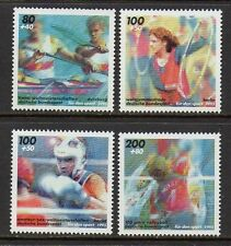 Germany**BOXING-VOLLEYBALL-KAYAK-GYMNASTICS-4 stamps-1995-Sport-Boxe-Boksen-MNH