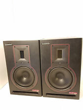 Samson Rubicon R6A 175W Active 6 inch 2-Way Ribbon Monitor - Pair