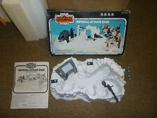 Vintage Star Wars ESB Imperial Attack Base Playset Rare Palitoy Version!