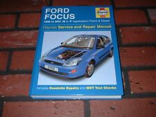 HAYNES MANUAL FOR FORD FOCUS. 1998 TO 2001. S TO Y REGISTRATION.