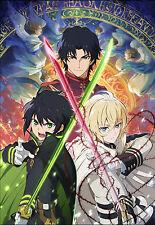 Poster A3 Owari No Seraph Yu Mika Guren
