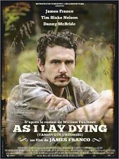 Affiche 40x60cm AS I LAY DYING 2013 James Franco - Tim Blake Nelson NEUVE