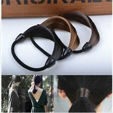 New Fashion Women Hair Rope Solid Synthetic Fiber Hairband /Braid Headwear
