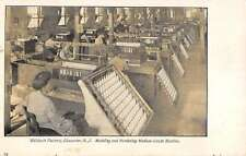 Gloucester New Jersey Welsbach Factory Modeling Mantles Antique Postcard K32929