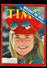 1972 Time Magazine: Linda Agustsson Ski Equipment Agent- Holiday On Skis.