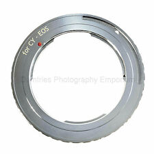 Contax Yashica CY C/Y Lens to CANON EOS Mount Adapter (Fits all EOS cameras)