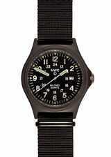 Latest MWC G10BH 12/24 US Pattern Military Watch in Covert Black PVD Finish
