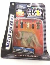 STAR WARS Action Fleet Battle Packs #3 ALIENS AND CREATURES ~ BANTHA ~ MISB MOC