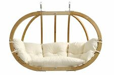 Amazonas Globo Royal double spherical wooden hanging chair