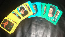 Complete Star wars ROTJ RED Series Topps trading cards Stickers set cool    214