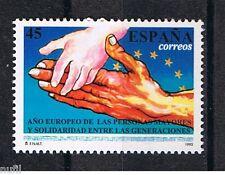 Spain  Edifil # 3272 ** MNH Set  Año Europeo de las personas mayores