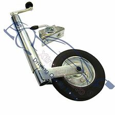 "Ifor Williams Flatbed Trailer 48mm Jockey Wheel 23""   30"" + Clamp"