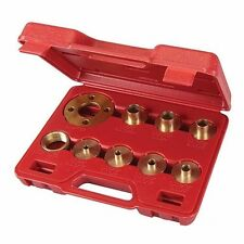 "Guida Bush Set 10 pz Set Router 5/16 "" -3 / 4"" 7.9mm-20.2 mm OTTONE Power Tool P486"