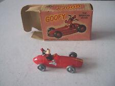 Vintage elm jouets hk maserati 250F disney dingo voiture de course vewry rare coffret