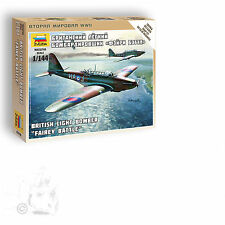 "ZVEZDA 1/144 FAIREY BATTLE BRITISH LIGHT BOMBER ""ART OF TACTIC"" SNAP FIT"