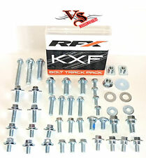 RFX Track Pack Bolts Nut & Washer Kits KAWASAKI KX125 KX250 2000-17