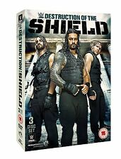 WWE The Destruction Of The Shield 3er [DVD] NEU Roman Reigns, Dean Ambrose