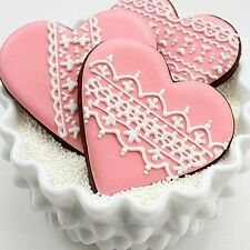 Aluminium Kitchen Pastry Biscuit Cookie Cutter Baking Mould Loving Heart Shaped