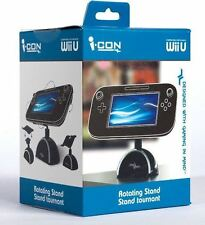 Wii U Rotating Stand - Multi Position Stand Gamepad Accessory Table Holder New
