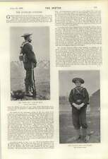 1900 British Sailor With Rifle Pistol And Cutlass Duchess Of Devonshire