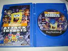 PS2 Nicktoons: Attack of the Toybots (Sony PlayStation 2, 2007)
