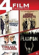 Midnight Cowboy/The Usual Suspects/Thelma & Louise/Platoon (DVD, 2014, 4-Disc...